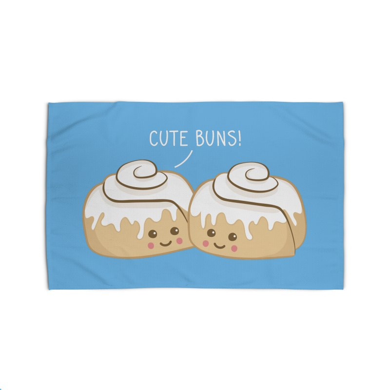 cute buns! Home Rug by Calobee Doodles
