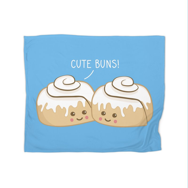 cute buns! Home Blanket by Calobee Doodles