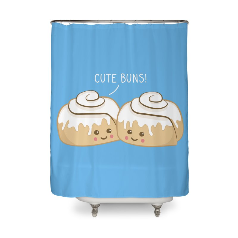 cute buns! Home Shower Curtain by Calobee Doodles