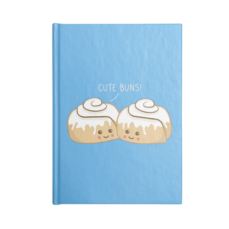 cute buns! Accessories Notebook by Calobee Doodles