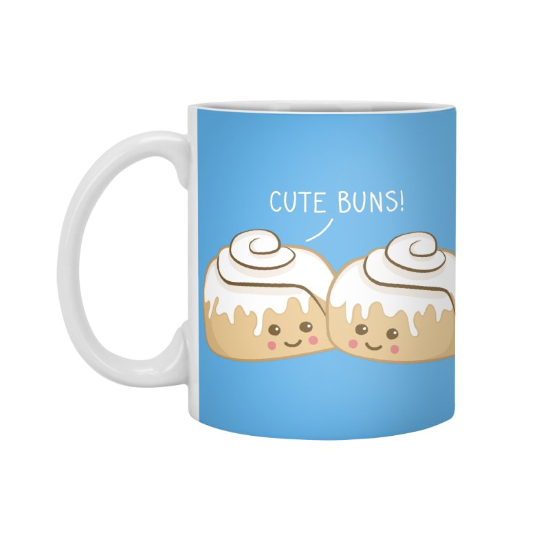 cute buns! Accessories Mug by Calobee Doodles