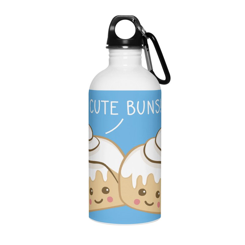 cute buns! Accessories Water Bottle by Calobee Doodles