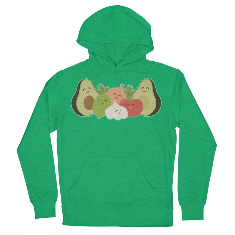 Guac & Roll Women's French Terry Pullover Hoody by Calobee Doodles