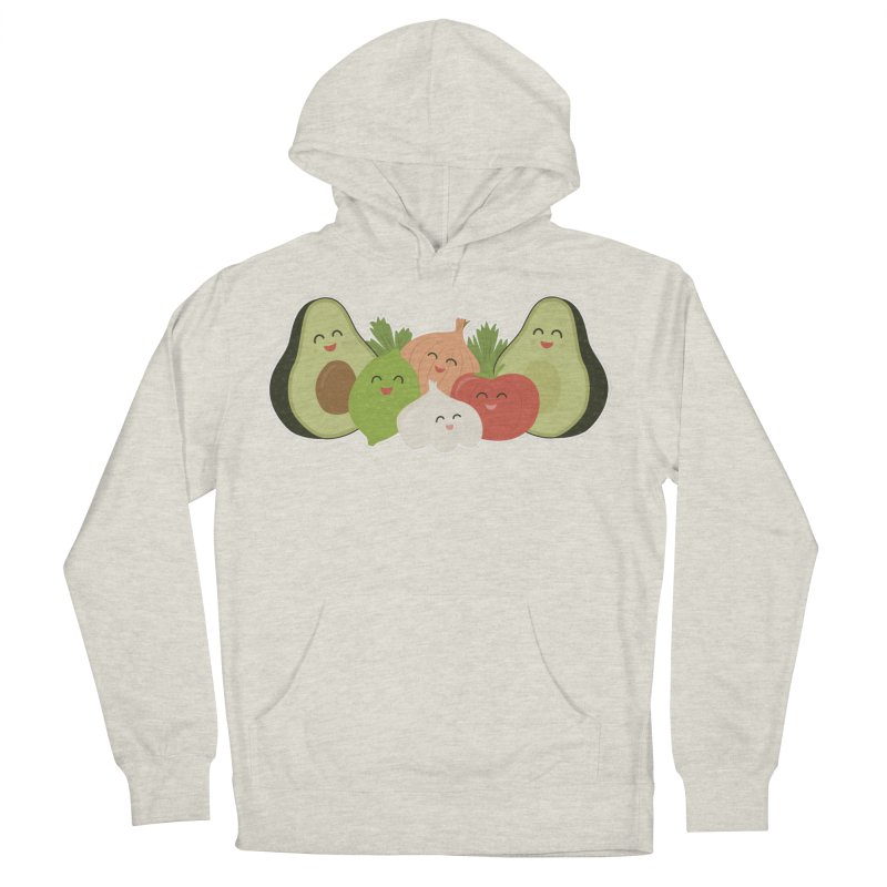 Guac & Roll Men's Pullover Hoody by Calobee Doodles