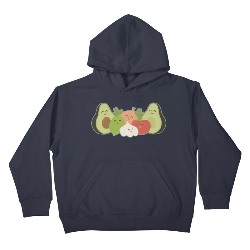 Guac & Roll Kids Pullover Hoody by Calobee Doodles