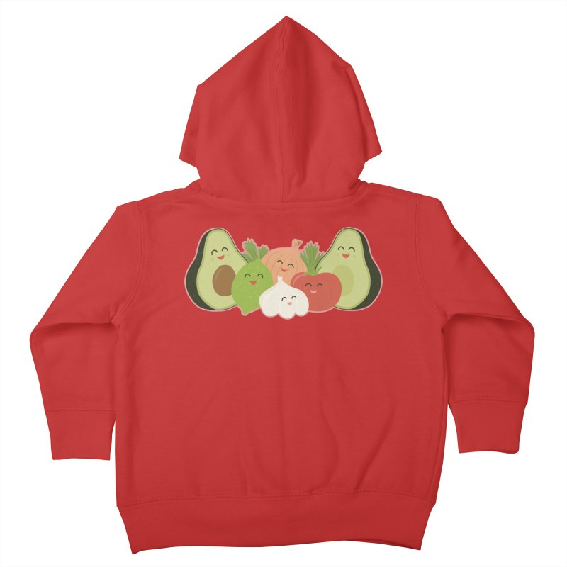 Guac & Roll Kids Toddler Zip-Up Hoody by Calobee Doodles