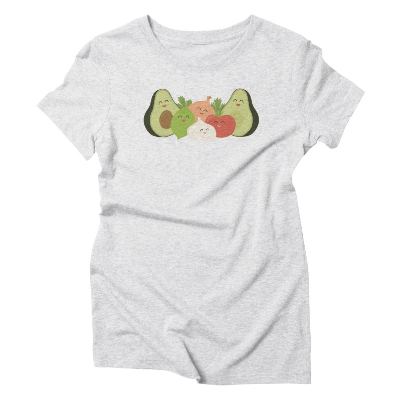 Guac & Roll Women's Triblend T-Shirt by Calobee Doodles