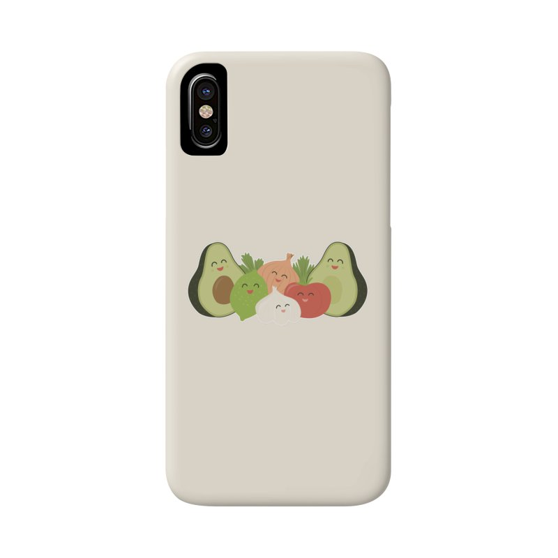 Guac & Roll Accessories Phone Case by Calobee Doodles