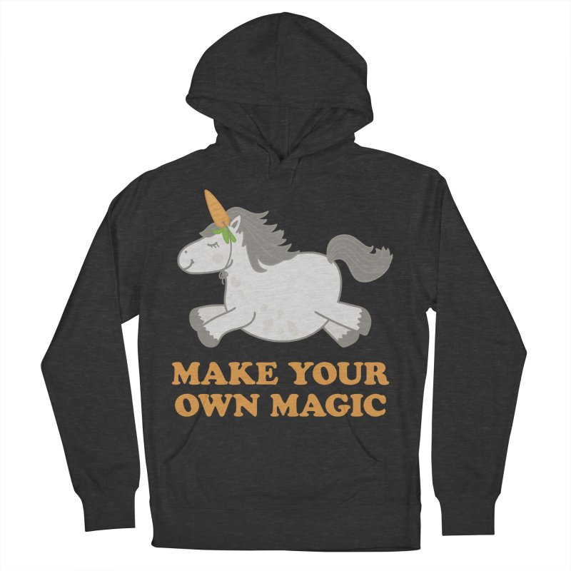 Make Your Own Magic Women's French Terry Pullover Hoody by Calobee Doodles