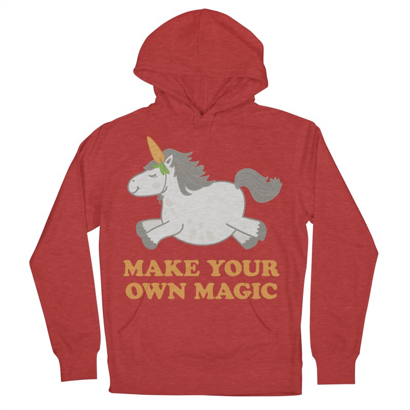 Make Your Own Magic Men's French Terry Pullover Hoody by Calobee Doodles