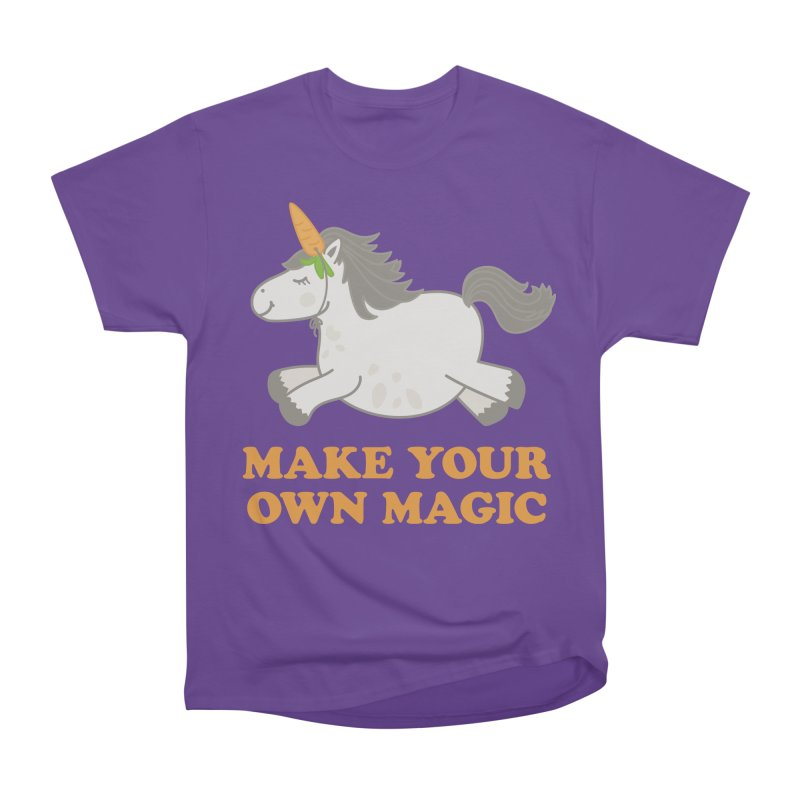 Make Your Own Magic Women's Heavyweight Unisex T-Shirt by Calobee Doodles