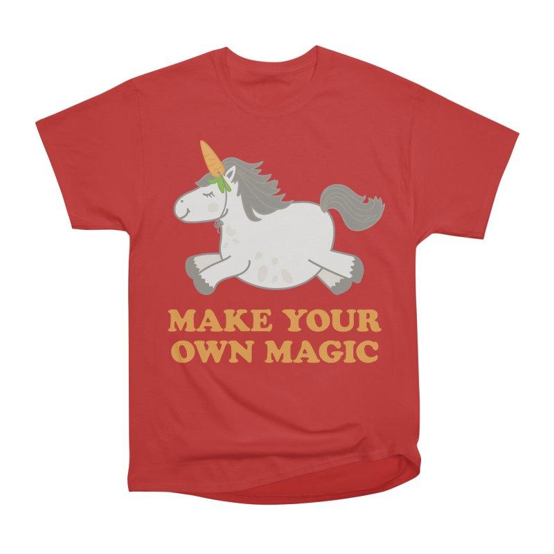 Make Your Own Magic Men's Heavyweight T-Shirt by Calobee Doodles