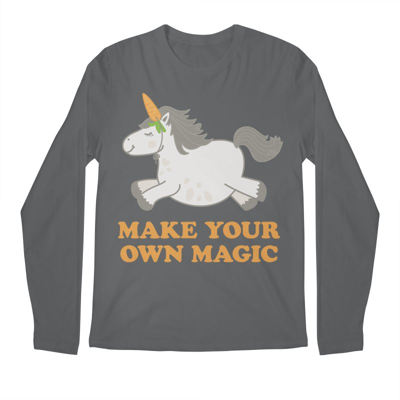 Make Your Own Magic Men's Regular Longsleeve T-Shirt by Calobee Doodles