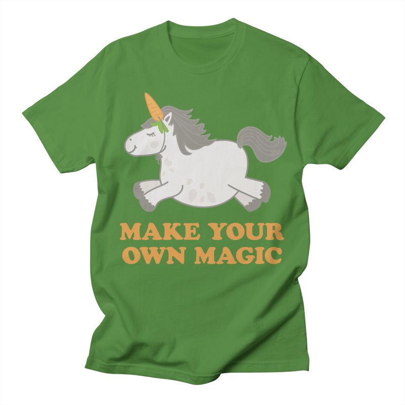 Make Your Own Magic Women's Regular Unisex T-Shirt by Calobee Doodles
