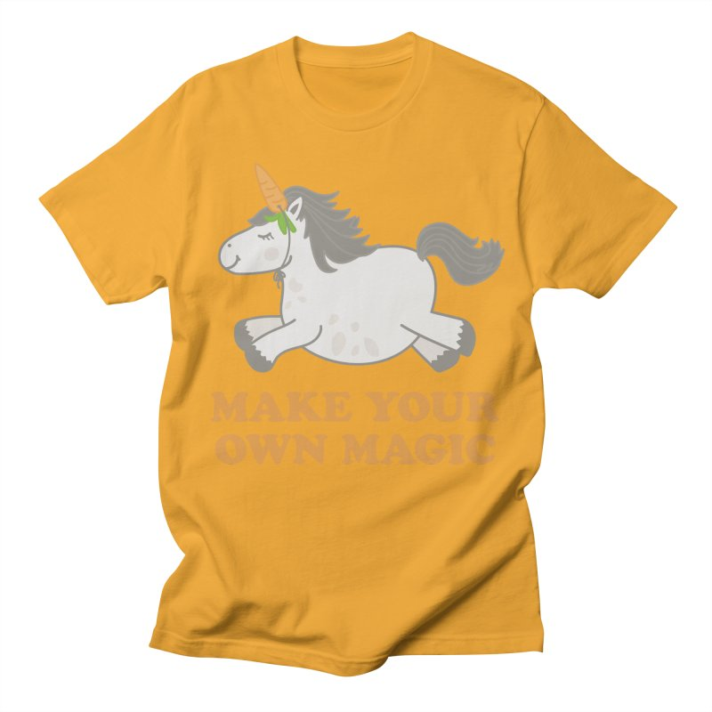 Make Your Own Magic Men's Regular T-Shirt by Calobee Doodles