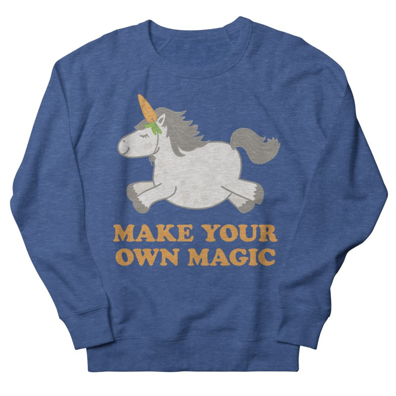 Make Your Own Magic Men's French Terry Sweatshirt by Calobee Doodles