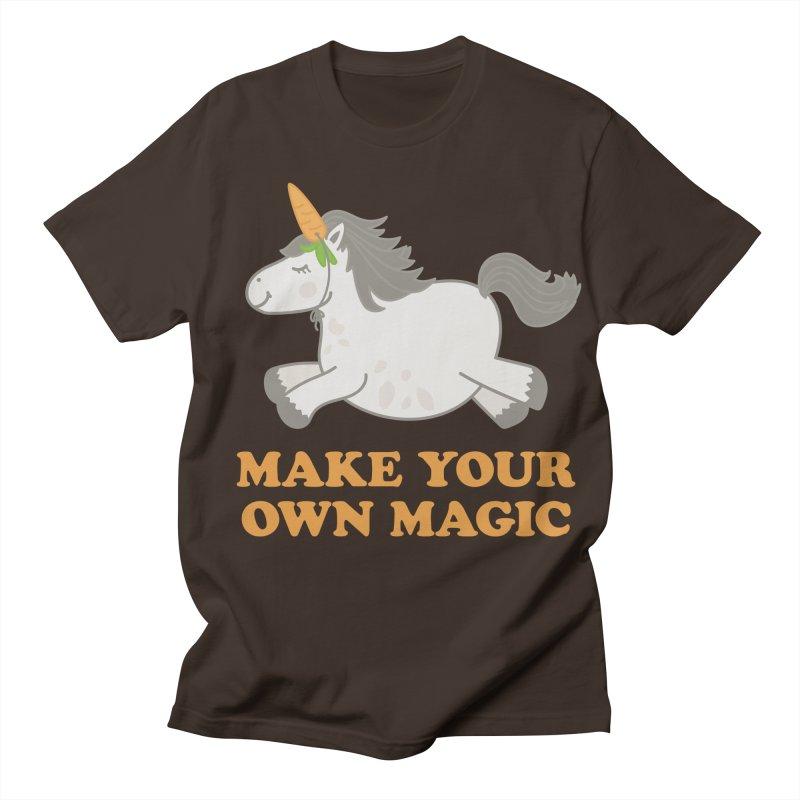 Make Your Own Magic Men's T-Shirt by Calobee Doodles