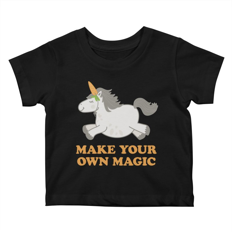 Make Your Own Magic Kids Baby T-Shirt by Calobee Doodles