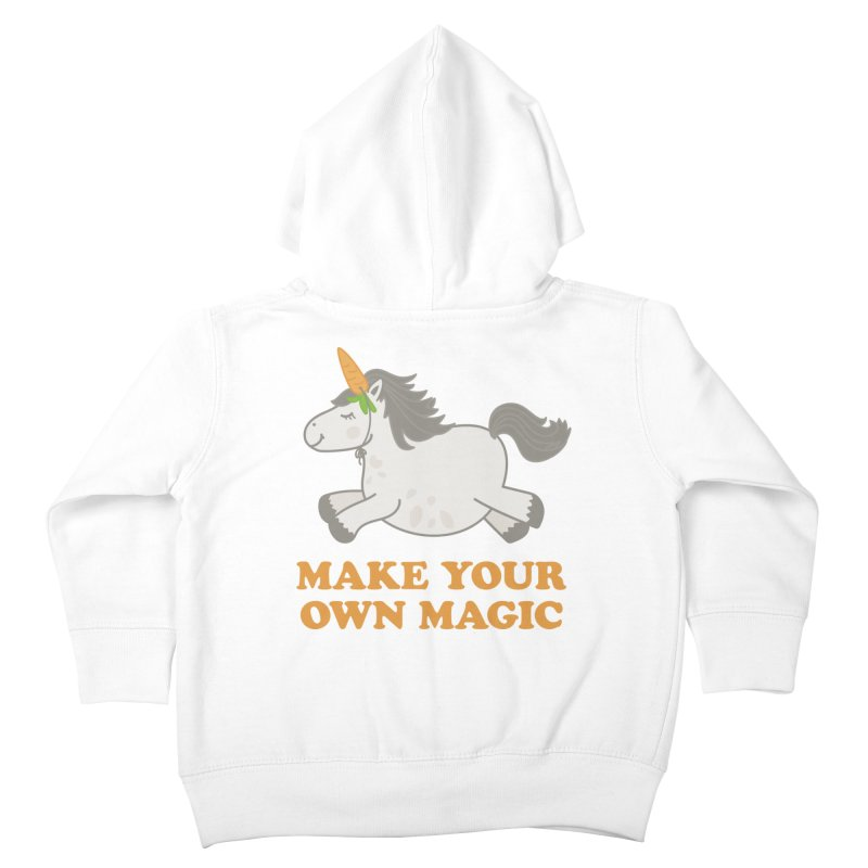 Make Your Own Magic Kids Toddler Zip-Up Hoody by Calobee Doodles