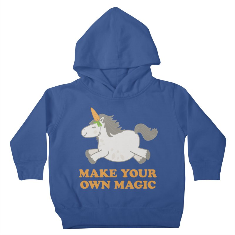 Make Your Own Magic Kids Toddler Pullover Hoody by Calobee Doodles