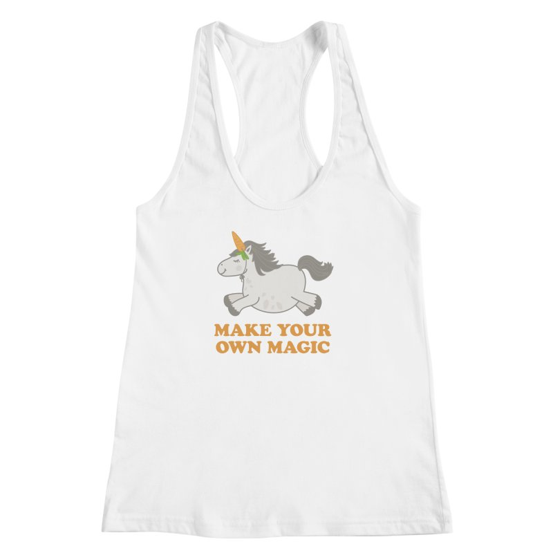 Make Your Own Magic Women's Racerback Tank by Calobee Doodles