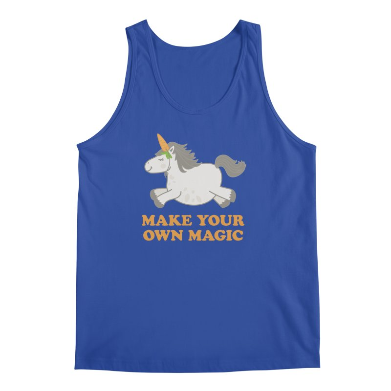 Make Your Own Magic Men's Regular Tank by Calobee Doodles