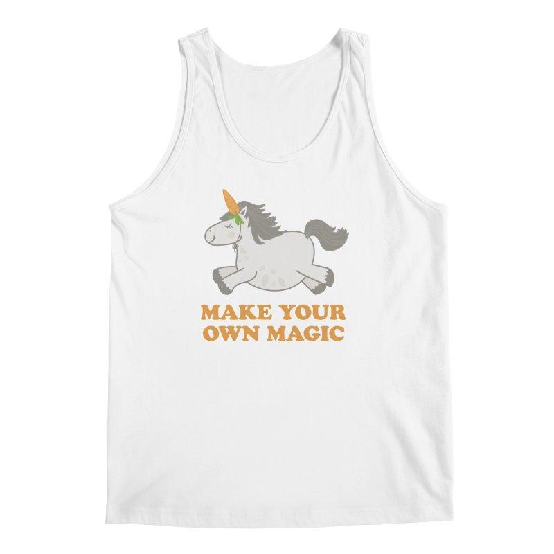 Make Your Own Magic Men's Regular Tank by Calobee Doodles