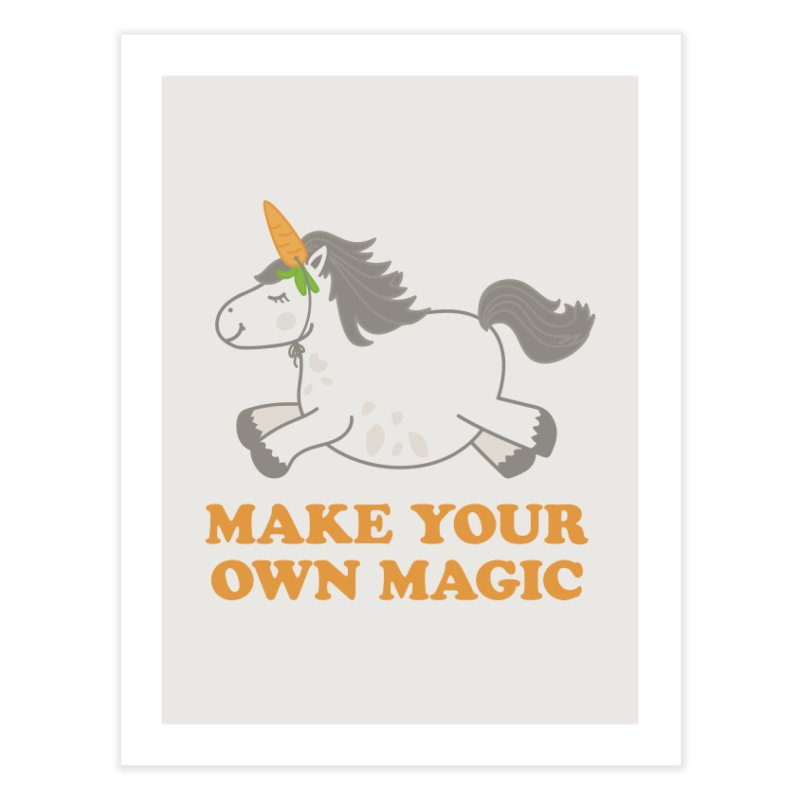Make Your Own Magic Home Fine Art Print by Calobee Doodles