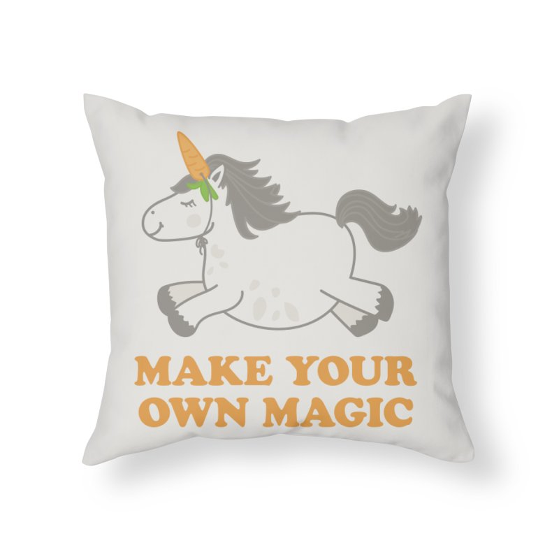 Make Your Own Magic Home Throw Pillow by Calobee Doodles