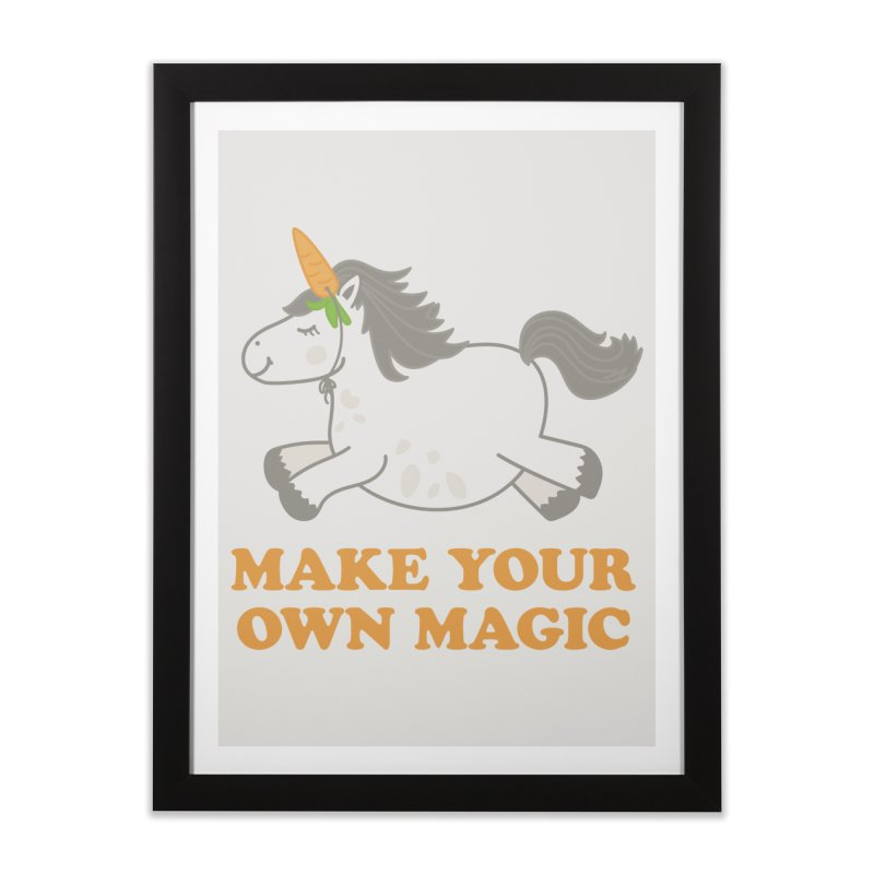 Make Your Own Magic Home Framed Fine Art Print by Calobee Doodles