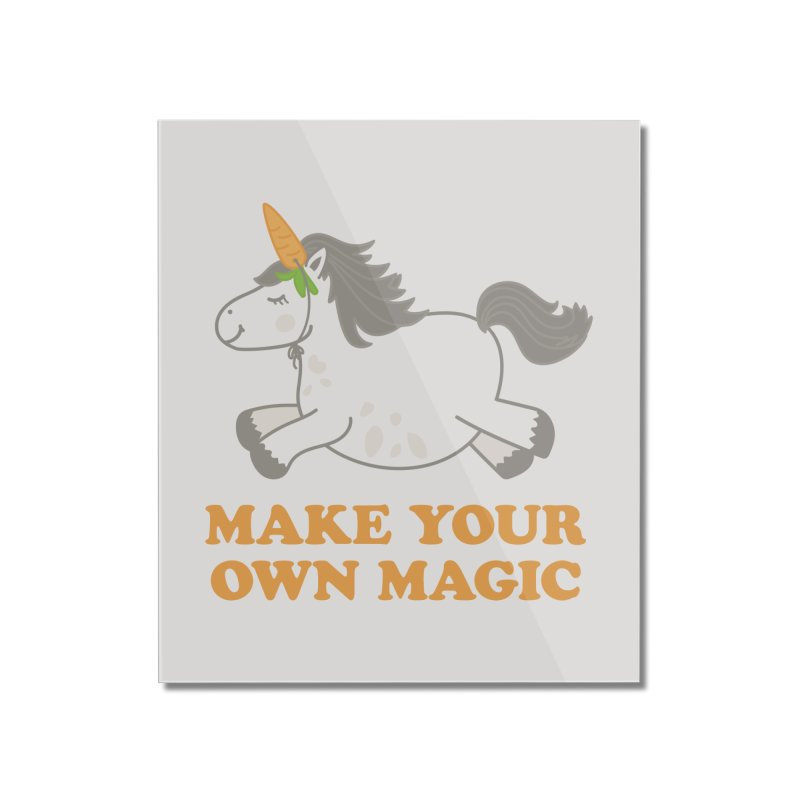 Make Your Own Magic Home Mounted Acrylic Print by Calobee Doodles