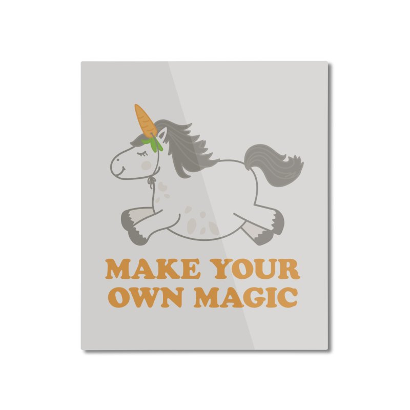 Make Your Own Magic Home Mounted Aluminum Print by Calobee Doodles