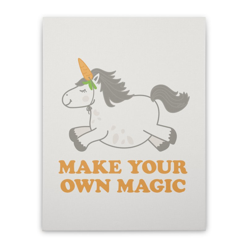 Make Your Own Magic Home Stretched Canvas by Calobee Doodles