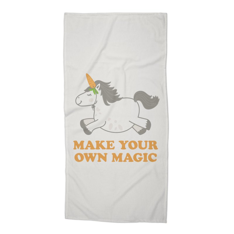Make Your Own Magic Accessories Beach Towel by Calobee Doodles