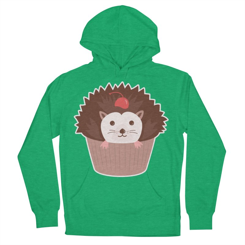 Hedgecake Women's French Terry Pullover Hoody by Calobee Doodles