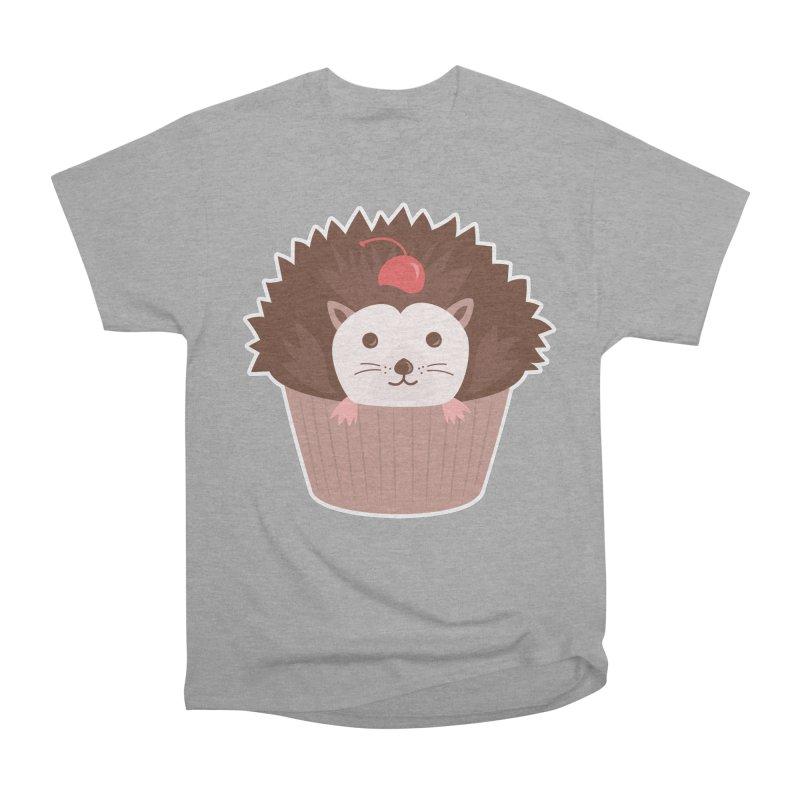 Hedgecake Men's Heavyweight T-Shirt by Calobee Doodles