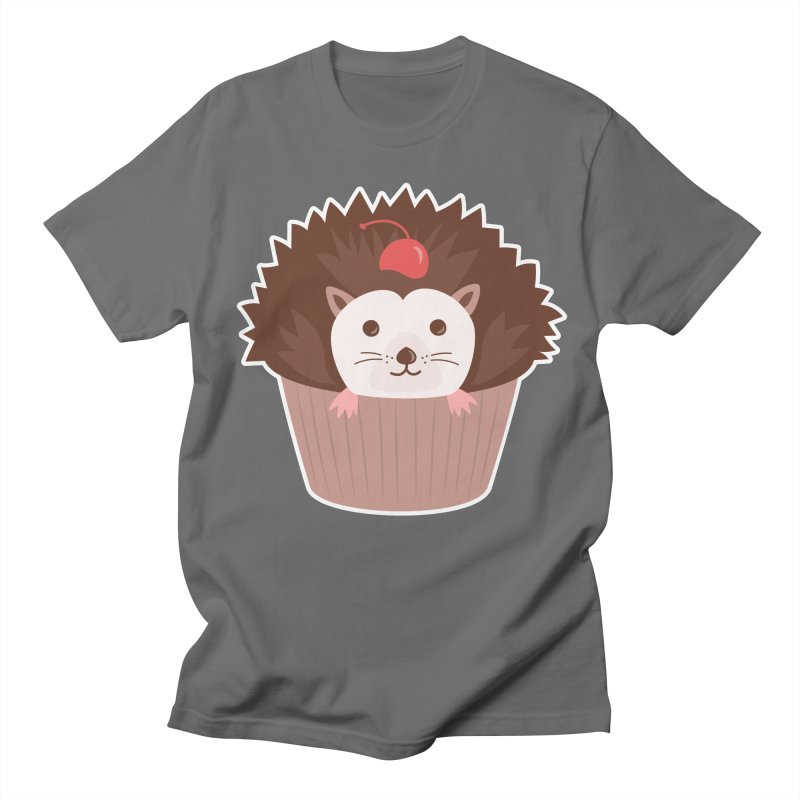 Hedgecake Men's Regular T-Shirt by Calobee Doodles