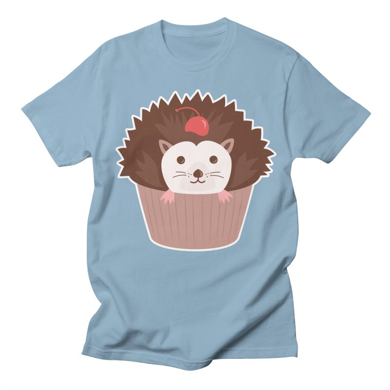 Hedgecake Men's Regular T-Shirt by Calobee Doodles