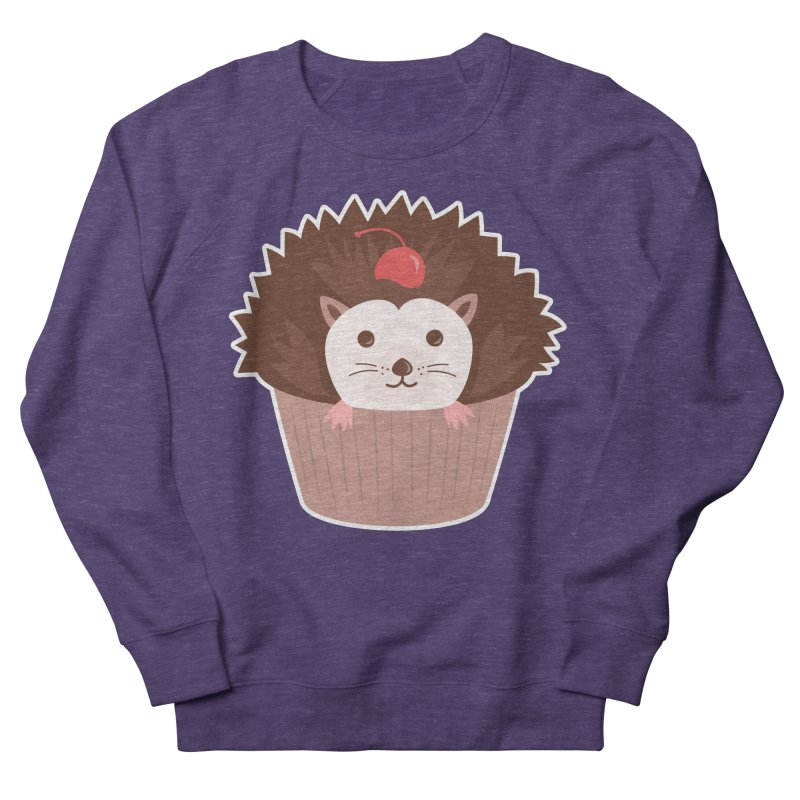 Hedgecake Women's French Terry Sweatshirt by Calobee Doodles