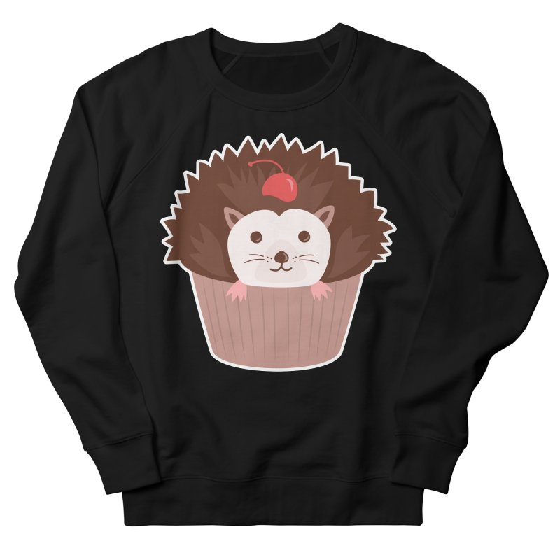 Hedgecake Men's French Terry Sweatshirt by Calobee Doodles