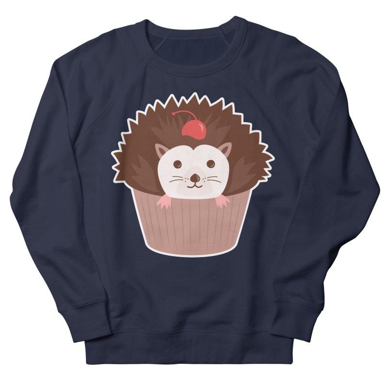 Hedgecake Men's French Terry Sweatshirt by Calobee Doodles