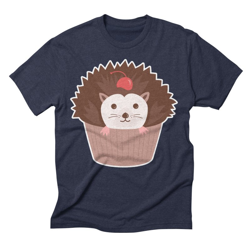Hedgecake Men's Triblend T-Shirt by Calobee Doodles