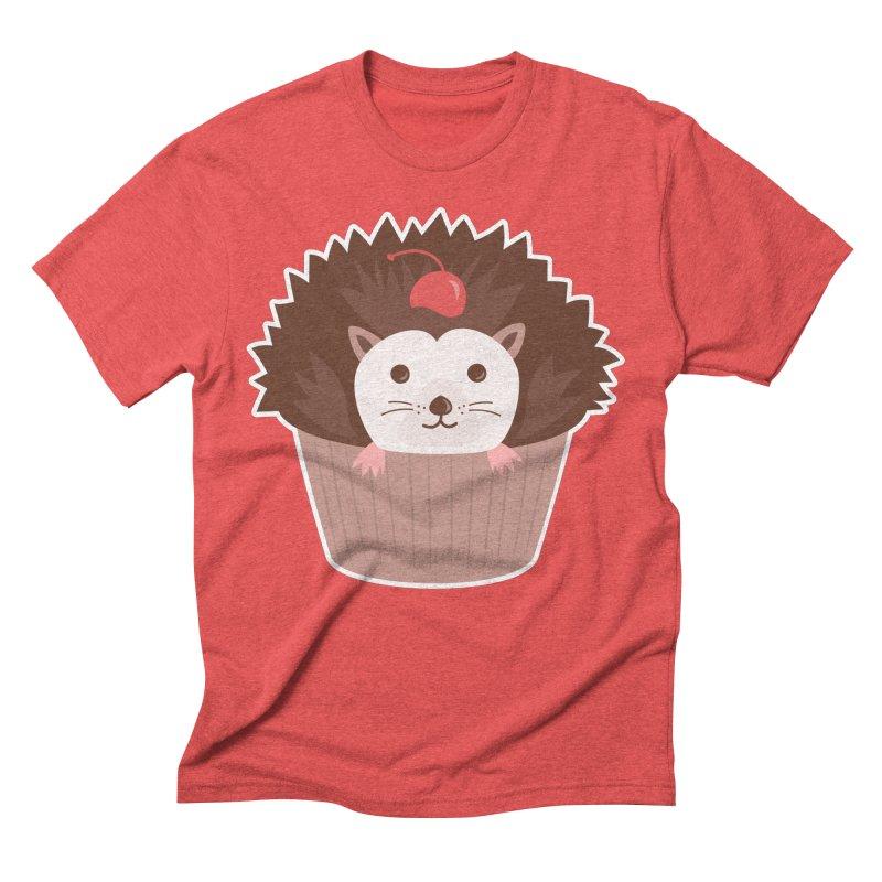 Hedgecake Men's Triblend T-Shirt by Calobee Doodles
