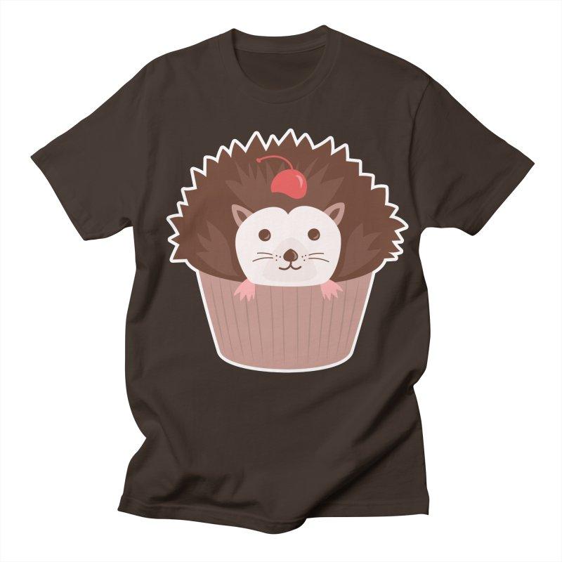 Hedgecake Men's T-Shirt by Calobee Doodles