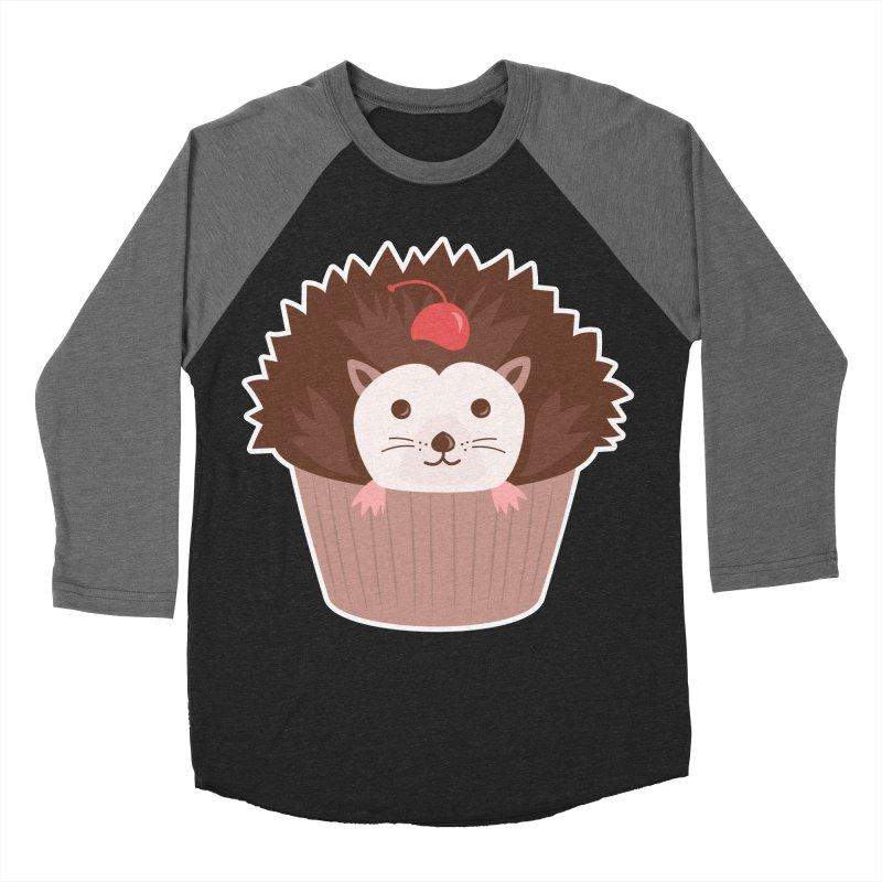 Hedgecake Women's Baseball Triblend Longsleeve T-Shirt by Calobee Doodles
