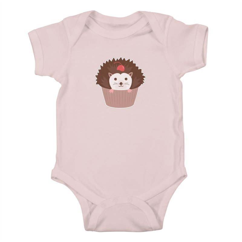 Hedgecake Kids Baby Bodysuit by Calobee Doodles