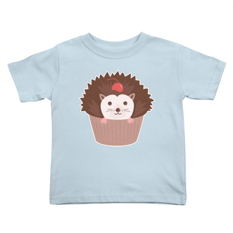 Hedgecake Kids Toddler T-Shirt by Calobee Doodles