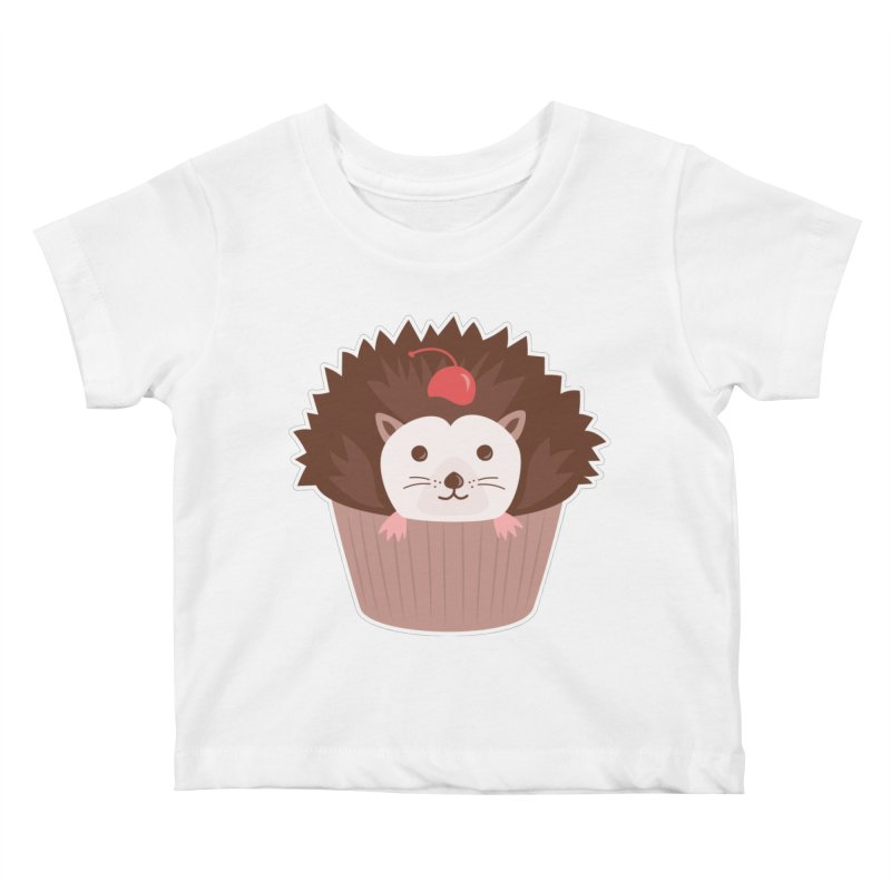 Hedgecake Kids Baby T-Shirt by Calobee Doodles