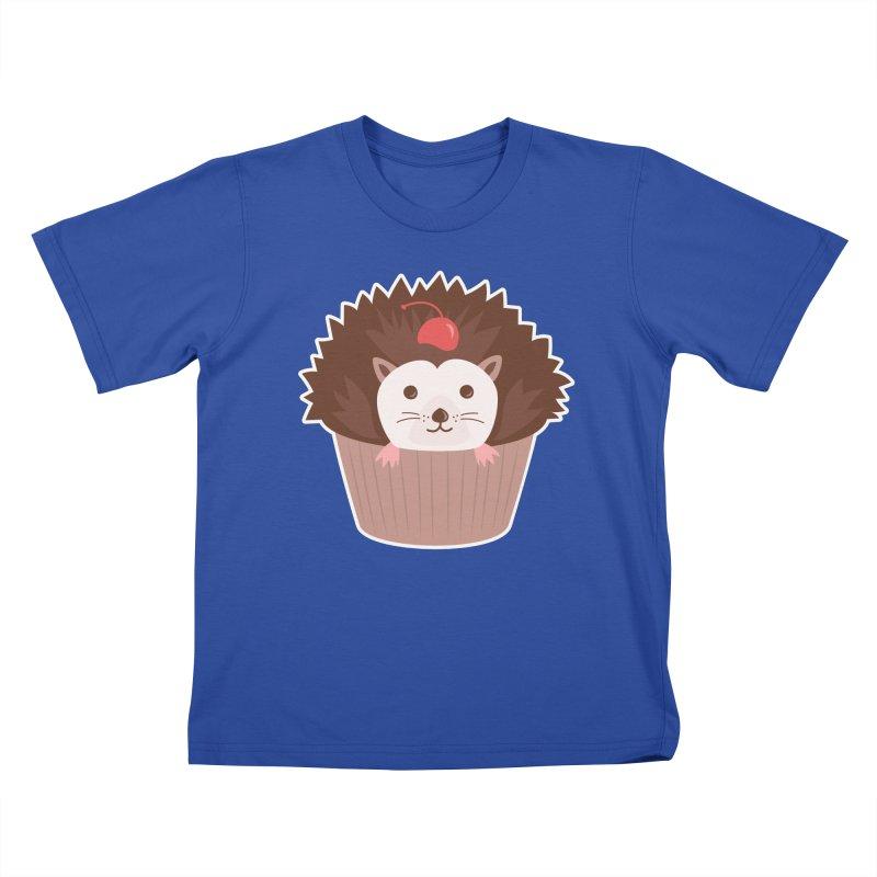 Hedgecake Kids T-Shirt by Calobee Doodles