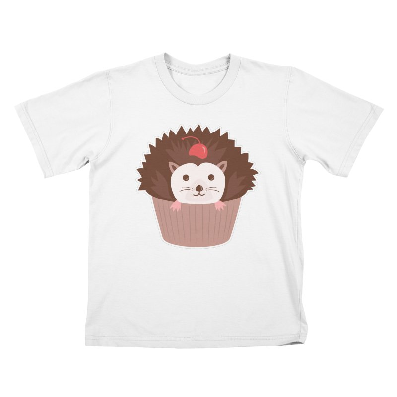 Hedgecake Kids T-Shirt by Calobee Doodles